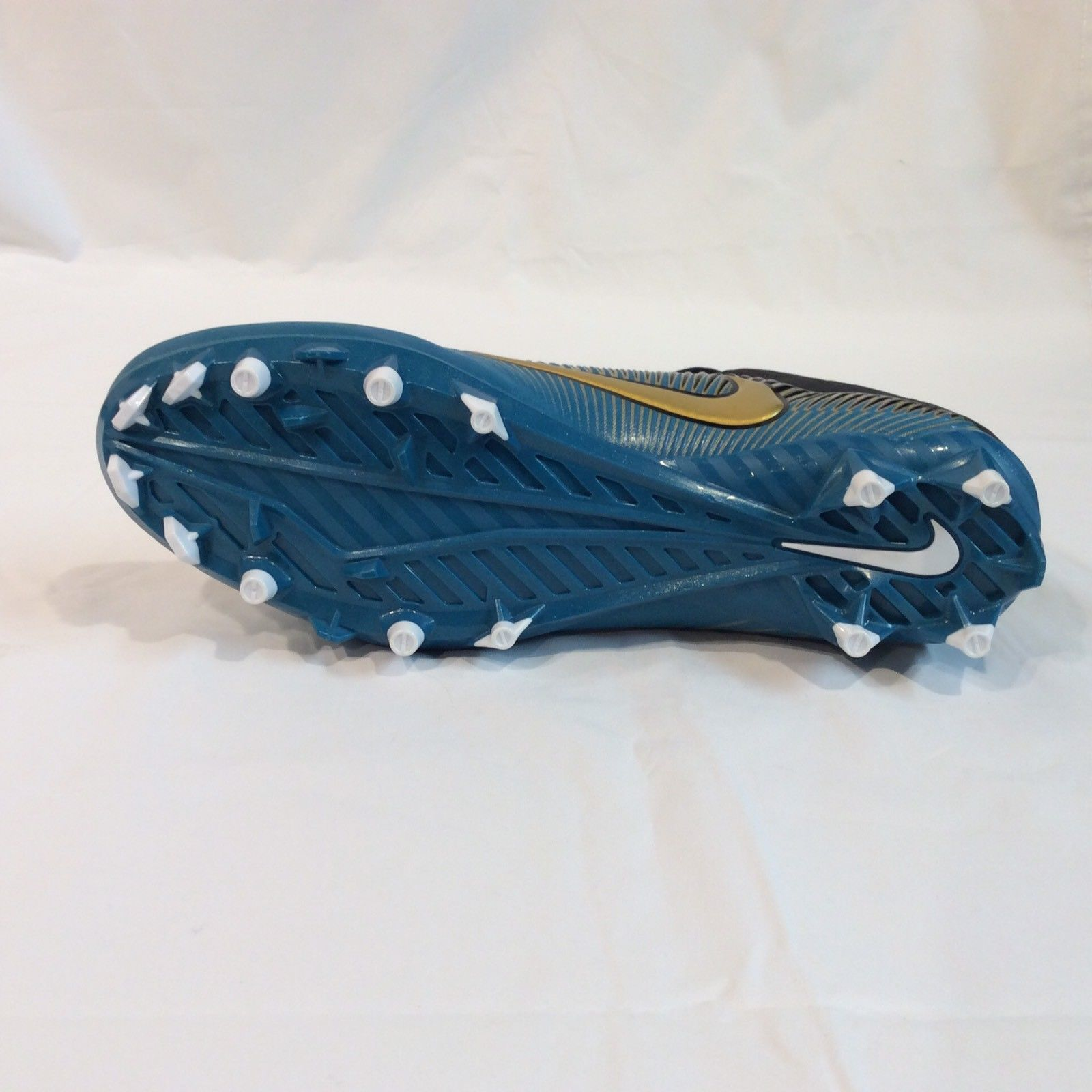 0596cbb2ef6 ... Nike 846805-415 Vapor Speed 2 Low TD (11.5) Gold Teal Football Cleats  ...