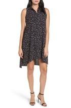 NWT Anne Klein Geo Confetti Floral Foliage Sleeveless Button Down Shirt ... - $33.99