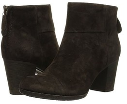 Clarks Women's Enfield Tess Boot Brown leather 10M - $85.44