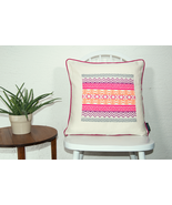 Felice Hand Stitched Accent Pillow Geometric - $92.98