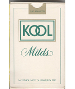 KOOL Cigarettes Playing Cards   Christmas Gift For the Tobacco Memorabil... - $6.99