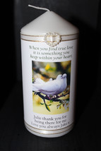 Cellini Candles True Love Doves Someone Special Gift #1 - $20.51