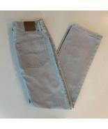 Men's Lee Jeans Size 32 x 32 Gray Regular fit 100% cotton - $16.82