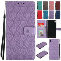 Magnetic Flip Leather Wallet Card Slot Stand Case Cover For Sony Xperia XA XZ L1 - $61.81