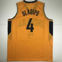 New VICTOR OLADIPO Indiana Yellow Custom Stitched Basketball Jersey Size... - €44,54 EUR