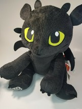 """How To Train Your Dragon 14"""" Toothless Build A Bear 2016 Red Tail w/ Voice Box - $29.65"""