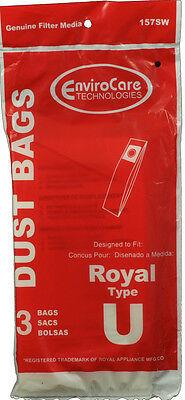 Dirt Devil Type U Vacuum Cleaner Bags 80-2433-04