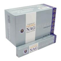Golden Nag Himalaya Incense Sticks Agarbatti Natural Fragrance 12 Pack of 15g - $19.41