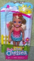 "Barbie Club Chelsea & Friends Swim Time 5"" Doll New - $13.50"
