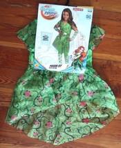 DC Super Hero Girls POISON IVY Halloween Costume child kids size SMALL n... - £22.21 GBP