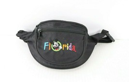 Vintage 90s Disney Mickey Mouse Florida Spell Out Festival Fanny Pack Wa... - $38.56