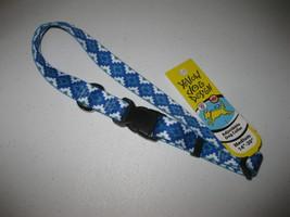 "Blue Aztec Storm Adjustable Medium Dog Collar (14""-20"") by Yellow Dog De... - $11.87"
