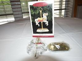HALLMARK Keepsake Ornament 1995 Tobin Fraley Carousel Collectors Series - $16.03