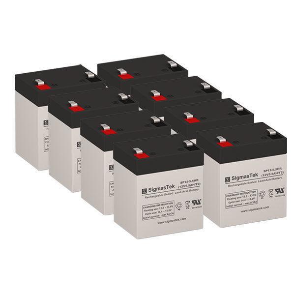 Razor PowerRider 360 Replacement Battery 12 Volt 5.5 AH F2 Terminal by SigmasTek