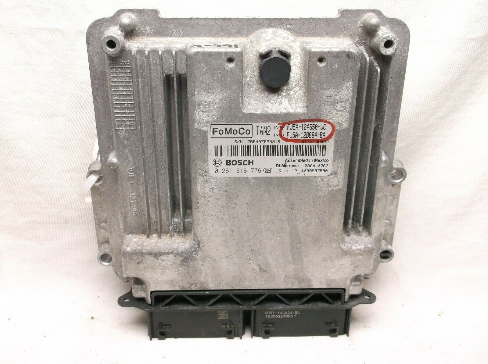 Primary image for 15-16 FORD ESCAPE/MKT/CONNECT/ TURBO  /  ENGINE CONTROL/COMPUTER/ECU.PCM