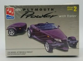 AMT ERTL 1997 Plymouth Prowler with Trailer #8588 1/25 Brand New Factory Sealed - $24.63