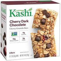 Kashi, Chewy Granola Bars, Cherry Dark Chocolate, Non-GMO Project Verifi... - $9.69