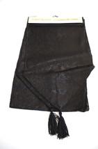 Haunted House-GOTHIC BLACK TABLE RUNNER DOOR SWAG-Halloween Party Decora... - $6.90