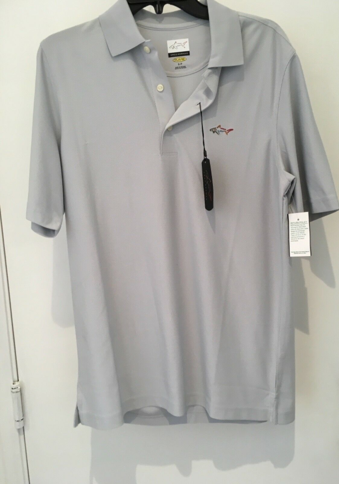 Primary image for Dunning Golf Polo Charcoal XL Gray  NWT