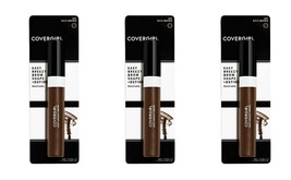 3 CoverGirl Easy Breezy Brow Shape + Define Brow Mascara 605 Rich Brown - $12.86
