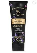 Bath & Body Works ~ Aromatherapy ~ Inspire~ Violet Sandalwood ~ Body Cre... - $15.50