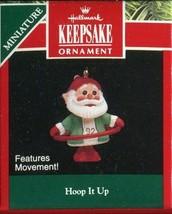 1992 - New in Box - Hallmark Christmas Keepsake Ornament - Hoop It Up Mi... - $3.11