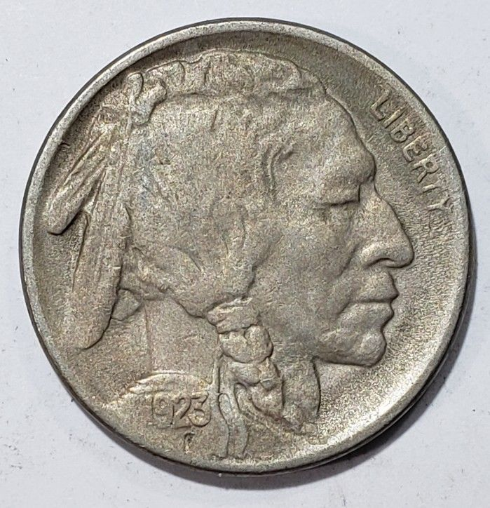 1923S Buffalo Nickel 5¢ Coin Lot # MZ 4831
