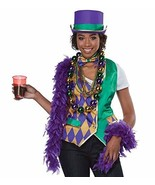 California Costumes Mardi Gras Woman Adult Costume Kit-Large/X-Large - $39.59