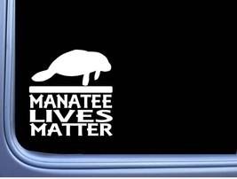 Manatee Lives Matter L372 6 inch Decal Sticker - $3.74