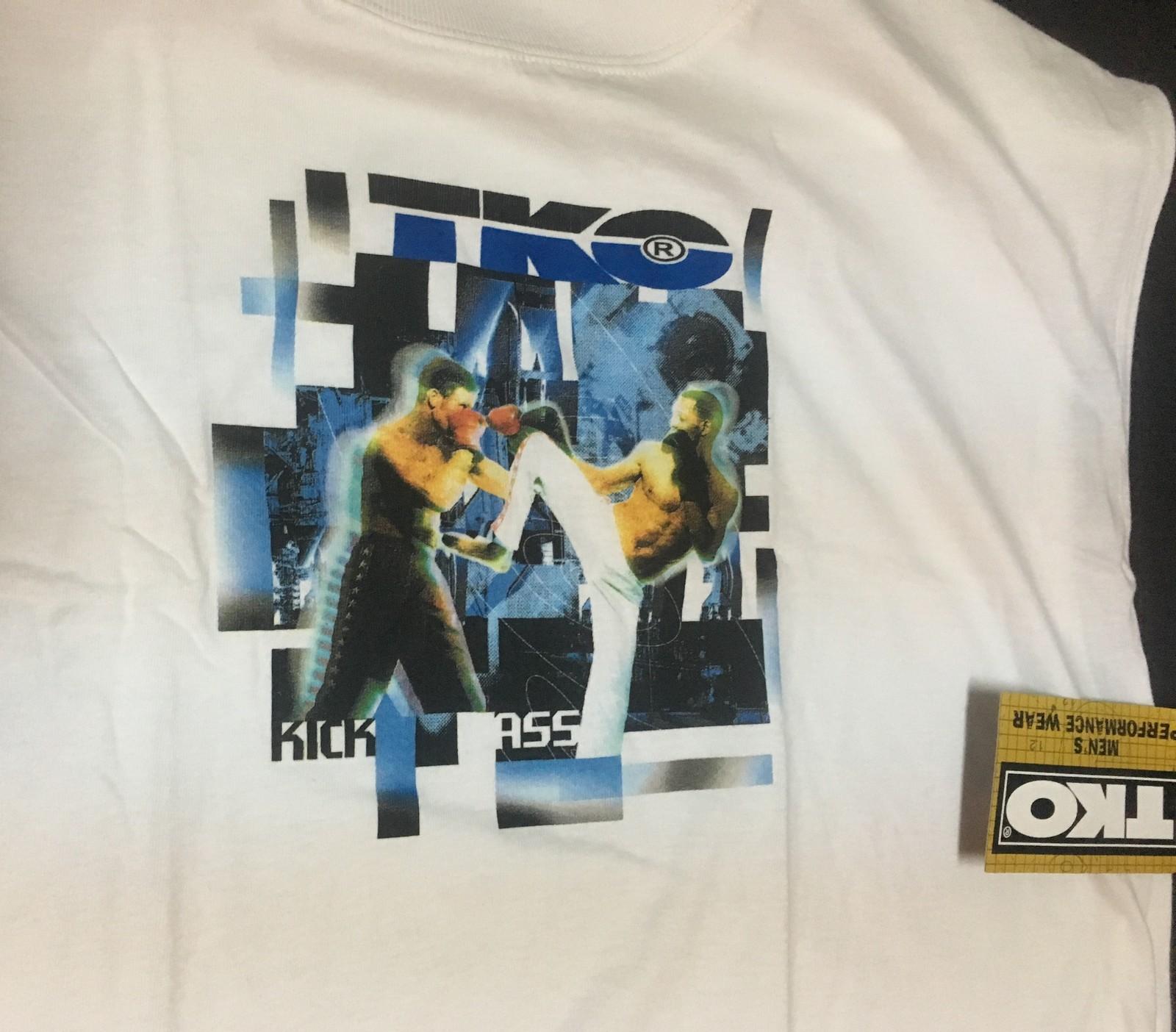 TKO Performance Wear Shirt KICK ASS Men's XL Made USA