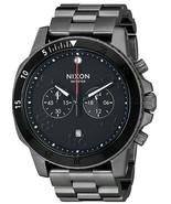 NWT Nixon Men's A5491531-00 Ranger Chrono Analog Display Quartz Grey Watch - $277.15