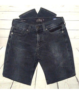 Lucky Brand Charlie Skinny Black Distressed Jeans Womens Size 2/26 - $19.80