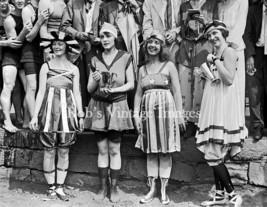 Flapper Women Girls Swimsuits Photo  Beauty Pageant 1920s Jazz Prohibition - $8.90