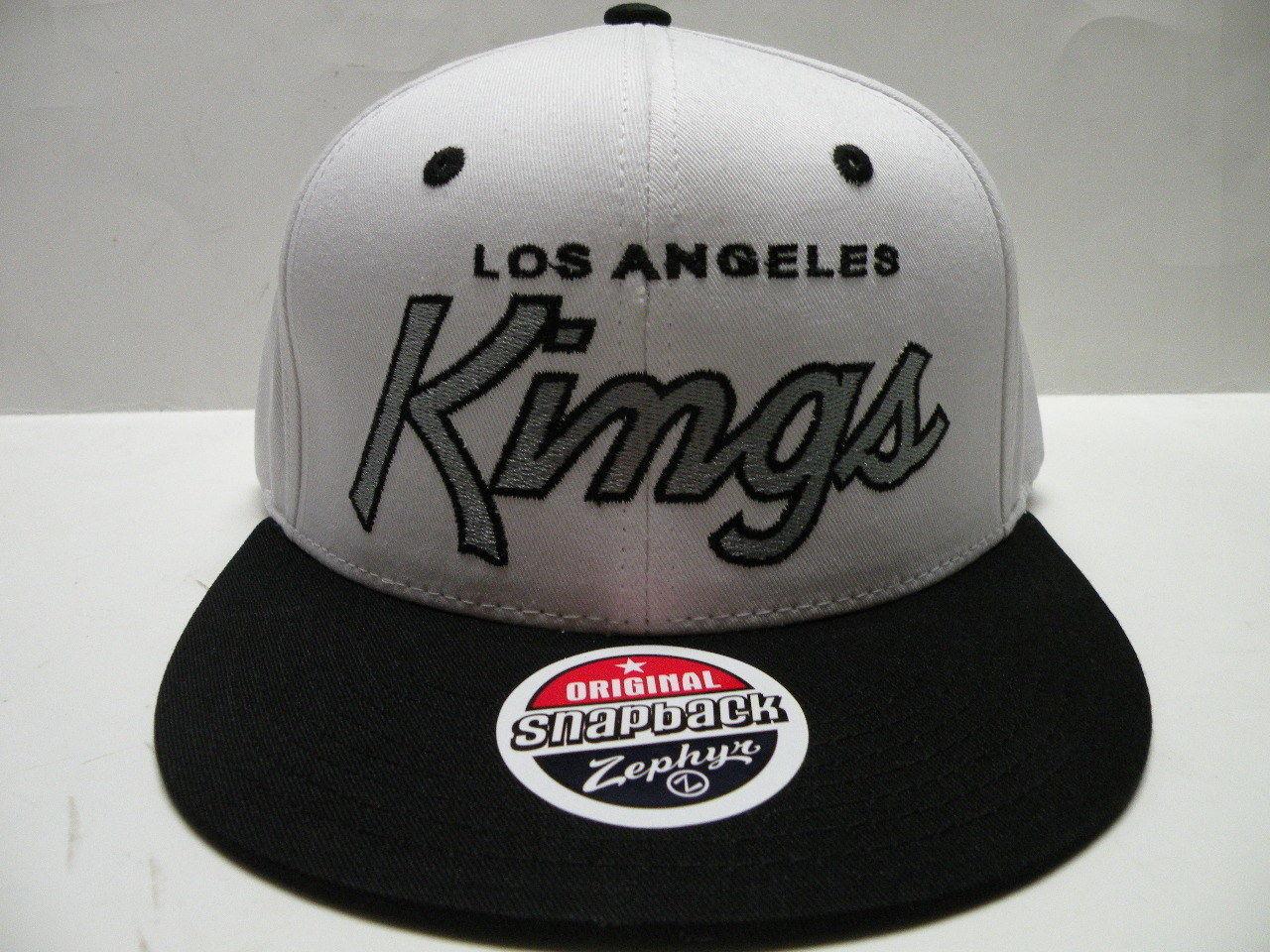 b60f7a5bc63 Zephyr NHL Los Angeles Kings White Black 2 and 42 similar items