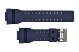 Genuine Rubber 16mm  Watch band Strap for Casio  GA-110 GA-120 GA-200 Blue  - $14.75