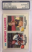 Jim Palmer Autographed 1977 Topps #5 PSA/DNA Slabbed - $33.85