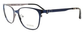 GUESS GU2629 091 Women's Eyeglasses Frames Cat-eye 52-17-135 Matte Blue - $64.86