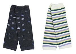 3 Pairs Baby Leg Warmers Baby Socks Baby Leggings,Random Pattern,0-3 Years image 2