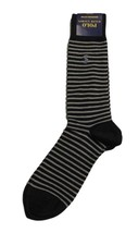[2 Pack] Polo Ralph Lauren Skinny Stripe Dress Socks NWT - $22.76