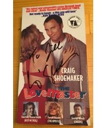 The Lovemaster VHS 1999 - Signed by Craig Shoemaker Comedy RARE OOP - $12.85
