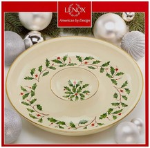 Lenox Holiday Chip & Dip New in Box 12' - $74.24