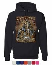 Carpenters Backbone of America Hoodie Blue Collar Job Craftsman Sweatshirt - $28.27+