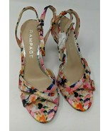 NWOT Rampage Ankle Strap Floral Sandals, Women's Size (6.5) **Please Read** - $22.76
