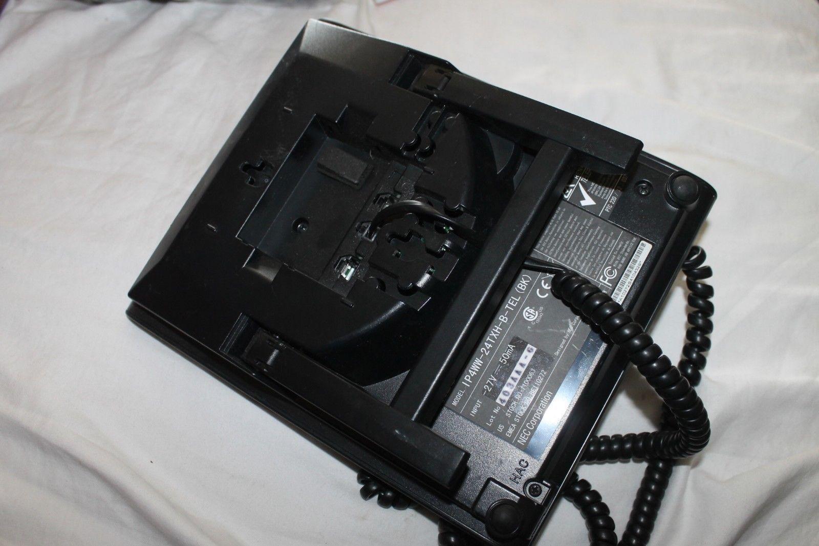 NEC IP4WW-24TXH-B-TEL (BK) Telephone- used- and 10 similar items