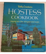 Betty Crocker's Hostess Cookbook 1967 First Edition Second Printing Mid ... - $14.84