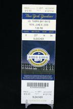 New York Yankees vs Tampa Bay Rays MLB Ticket w Stub 06/08/2009 Inaugural - $8.08