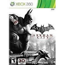 Batman: Arkham City (Microsoft Xbox 360, 2011) DISC IS MINT - $6.01