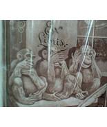 Antioch Bookplates. Vintage Sealed NOS . See No Evil Monkeys.  Ex Libris... - $17.00