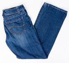 Lee Slender Secret Womens Jeans Embellished Pockets Size 6 Short - $21.47
