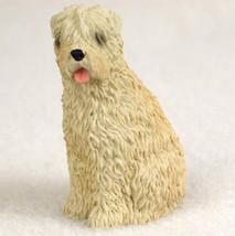WHEATEN TERRIER  TINY ONES DOG Figurine Statue Pet Lovers Gift Resin - $8.99